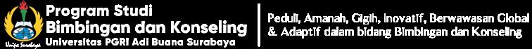 Program Studi Bimbingan dan Konseling – Universitas PGRI Adi Buana Surabaya